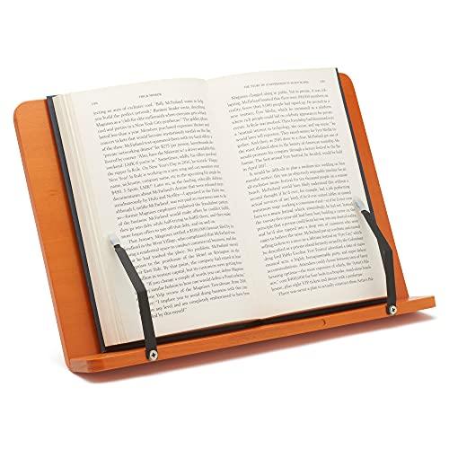 Professional Bookrest Book iPad Tablet eReader Stand Holder Book Lover Reading Gift Bookbook - Legno
