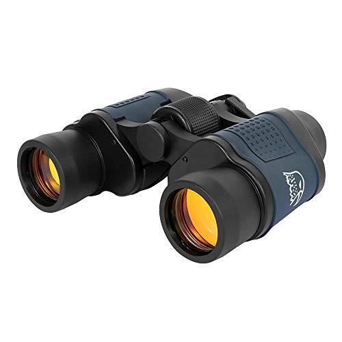 Kompaktes Fernglas, leistungsstark, Profi, 60 x 60, leistungsstarke Fernglas, Nachtsicht, hohe Leistung mit Kompass für Wandern/Beobachtung von Vögeln