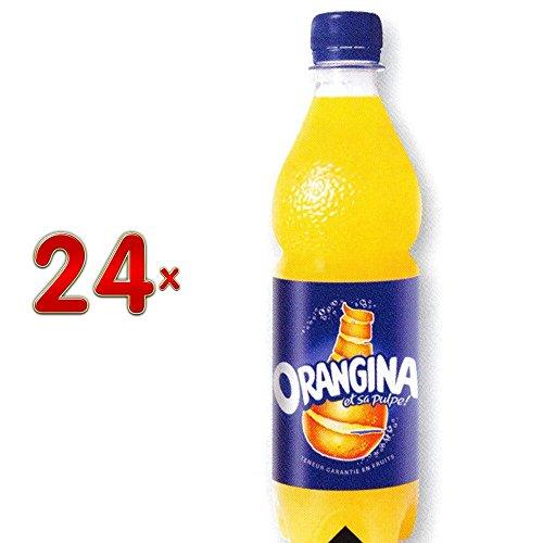 Orangina PET 24 x 500 ml Flasche (Orangen-Limonade)