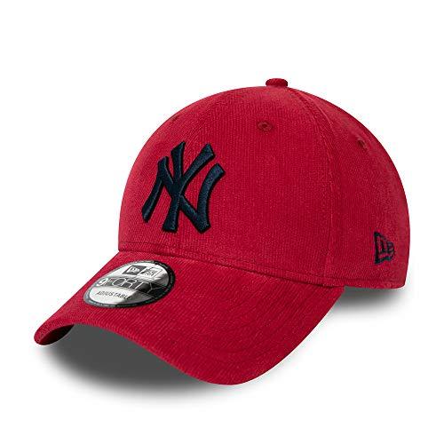 New Era New York Yankees Cap New Era MLB 9forty Adjustable Kappe Baseball Bordeau Rot - One-Size