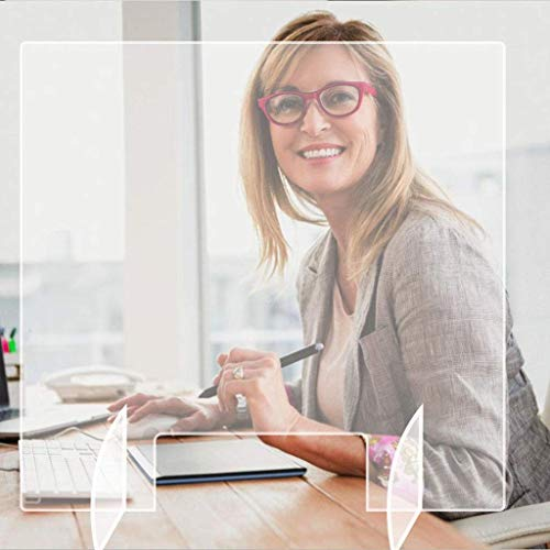 Evitar la ventana estornudo guarda protectora for el contador con el comercio de previenen el estornudo y tos en el Pública La infección cruzada, for oficina y (Color : -, Size : -)