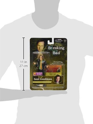 Mezco Toys Breaking Bad Figura Saul Goodman Green Shirt Previews Exclusive 15 cm 3