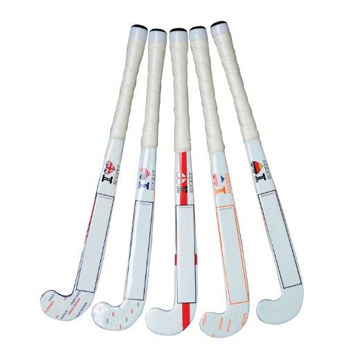 Grays Miniatur-Hockeyschläger für Autogramme, Country-Design, 45,7cm Belgium