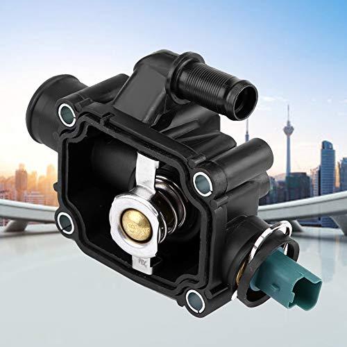 KSTE Koelvloeistof motor thermostaat behuizing compatibel met Peugeot 206 207 307 308 1007 1336.Z0