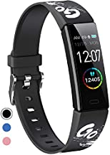 Mgaolo Slim Fitness Tracker, IP68 Waterproof Activity Tracker with Blood Pressure Heart Rate Sleep Monitor,Sport Health Fit Smart Watch with Pedometer Step Counter for Fitbit Android iPhone(Black)