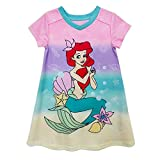 Disney Ariel Nightshirt for Girls – The Little Mermaid, Size 3