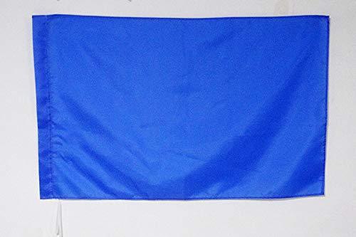 AZ FLAG Flagge Motorsport HELLBLAUE 90x60cm - Formel 1 Fahne 60 x 90 cm Scheide für Mast - flaggen Top Qualität