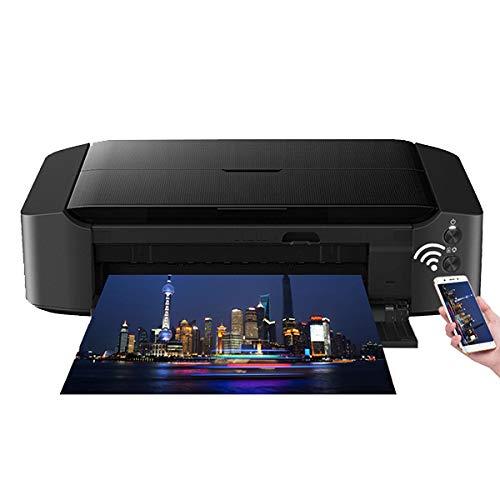 TANCEQI Tintenstrahl-Multifunktionsgerät Drucker, 6-Farben-Fotodrucker, A3 + Kommerzieller Wireless-Drucker Mit Drahtlose WiFi/USB (2,4 Ghz)