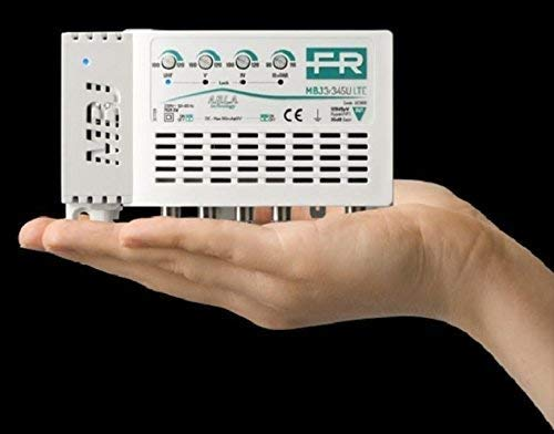 CENTRALINO TV 4 INGRESSI GUADAGNO MAX35DB MBJ3R345U LTE ( FRACARRO Cod. 223601 )