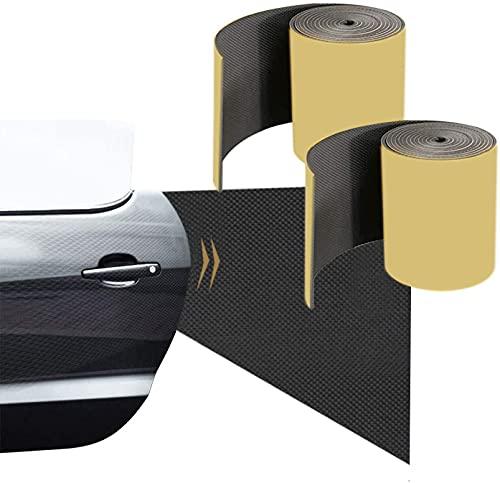 Fuutuu Paracolpi Garage Auto - 2 Pezzi in un Rotolo - 2000 * 200 * 5mm - Pannelli Adesivi e Ammortizzanti Protettiva per Auto Protezione a Muro per Porta Auto
