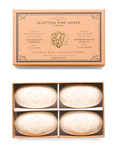 Scottish Fine Soaps Oatmeal Soap 4 X 100