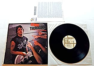 George Thorogood & The Destroyers BORN TO BE BAD - EMI Manhattan Records 1988 - USED Vinyl LP Record - 1988 Pressing E1-46973 - With RARE Promo Letter Insert - Highway 49 - I'm Movin' On - 8 more song