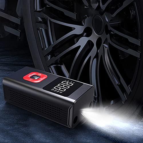 Bomba inflable compresor de aire portátil mini inflador de neumáticos 150PSI pantalla LED bomba de neumáticos con medidor de presión digital para coche motocicleta bicicleta bolas e inflables