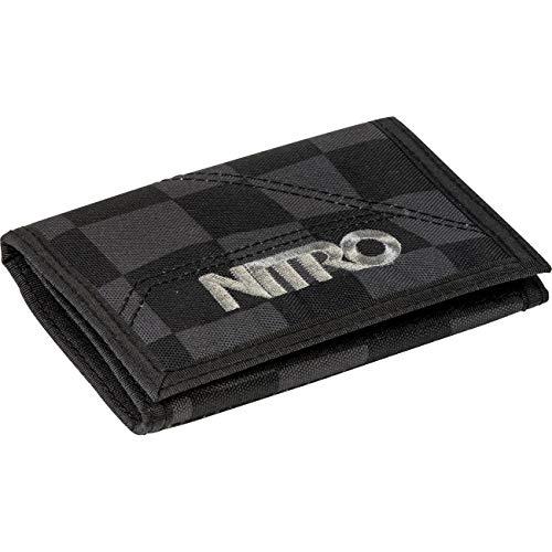 Nitro Wallet, Geldbörse, Geldbeutel, Portemonnaie, Münzbörse,  Checker,  10 x 14 x 1 cm