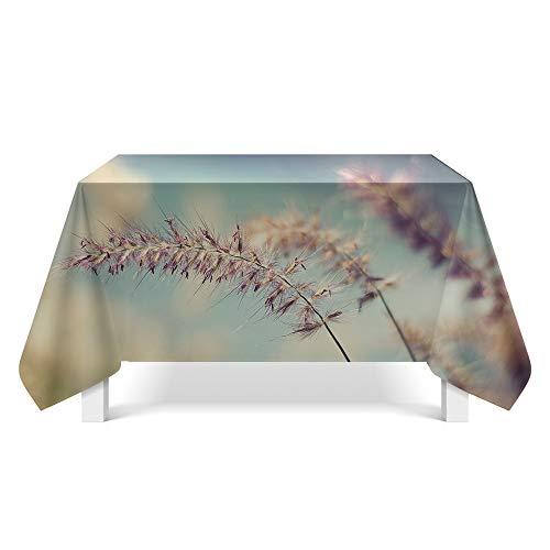 DREAMING-Kleine Florale Tischdecke Home Esstisch Stoff Tv-Schrank Couchtisch Stoff Runde Tisch Tischset 85cm * 85cm