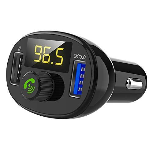 BEESCLOVER 3.0 Transmetteur FM Bluetooth sans Fil Modulateur Adaptateur Autoradio Lecteur MP3 Double USB Chargeur de Voiture