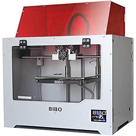 3IDEA - BIBO 2 3D Printer   Dual Extruder   Multicolor Printing   Laser Engraving   Sturdy Frame   WiFi Control   Touch Screen   Resume Printing   Build Size: 214x186x160mm