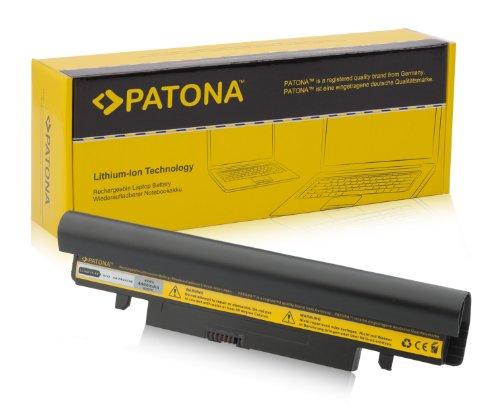 PATONA Laptop Akku für SAMSUNG N143 | N145 | N148 | N150 | N250 | N260 | NP-N143 | NP-N145 | NP-N148 | NP-N150 | NP-N250 | NP-N260 | NT-N143 | NT-N145P | NT-N148 | NT-N150 | NT-N250 | NT-N260 & weitere... - [ Li-ion; 4400mAh; schwarz ]