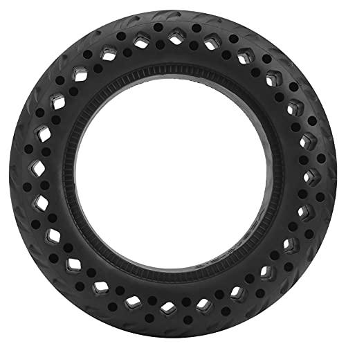 Neumático Macizo Neumático Resistente al Desgaste para Scooter eléctrico a Prueba de explosiones Rueda de Goma Antideslizante Maciza de 10 x 2,0 pulg.