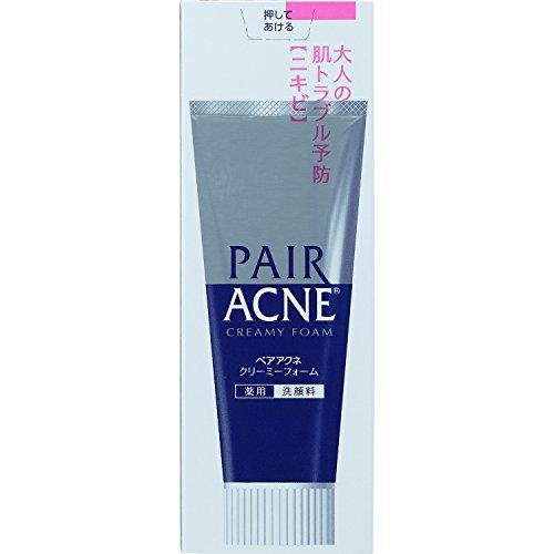 ペアアクネクリーミーフォーム薬用洗顔料80g(医薬部外品)
