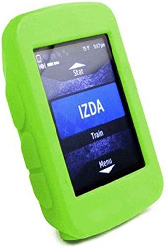 Funda compatible con Garmin Edge 520 Plus – Funda protectora de silicona – Accesorios de ordenador para bicicleta GPS (verde)