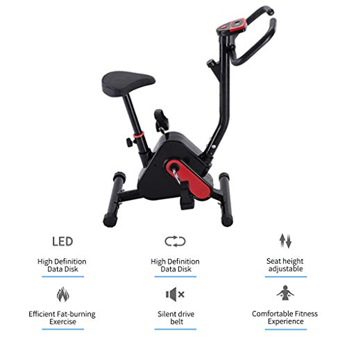 winwintom Indoor Cycling Bike - Ultra-Quiet Bicycle, Stationary Bicycle with Flywheel and LCD Display, Cardio Fitness Cycle Trainer Professional Exercise Bike for Home and Gym Use