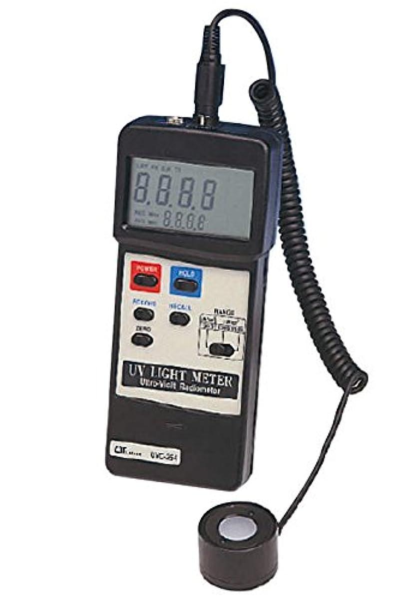 けがをする振幅黒くするカスタム UVC-254 デジタル紫外線強度計