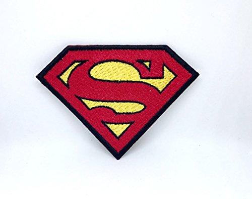 Parche bordado logotipo Superman DC Comic Super Hero