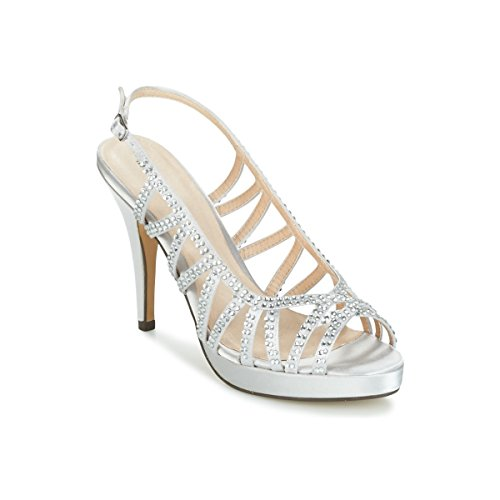 Menbur Cotilfar Sandalen/Sandaletten Damen Grau - 39 - Sandalen/Sandaletten Shoes