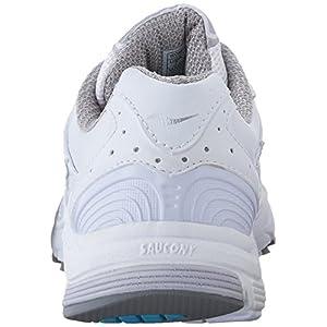 Saucony Women's Progrid Integrity ST2 Sneaker, White/Silver, 11 Narrow