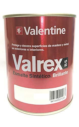 Valentine Valrex Esmalte Sintetico Brillante Oxido Rojo 750ML