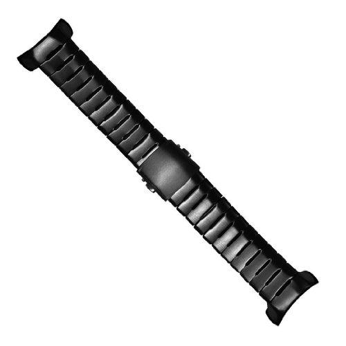 SUUNTO D6I スチールブレスレットキット オールブラック (SS019480000)