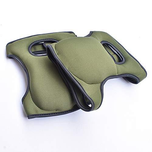 Garden Garden Knieschützer Ultra Comfort Knieschützer für den Heimgärtner - Kniend - Mehrzweck- und leichter Neoprenstoff - Anpassbare Träger - Farbe Grün - Stilvolles und einzigartiges Design