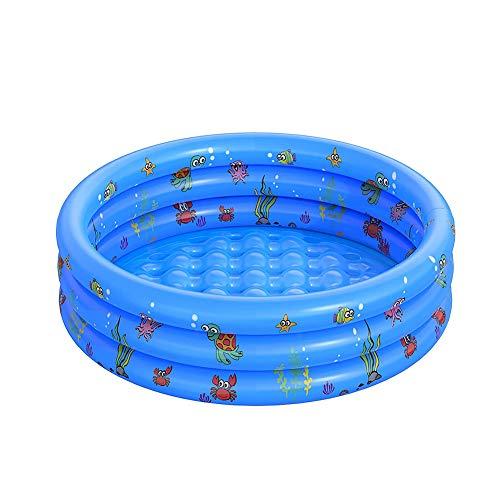 Uniguardian Baby aufblasbare Badewanne Aufblasbarer Kinderpool Langlebiger Aufblasbarer Pool Tragbare Badewanne Zusammenklappbar Pool für Baby und Kinder
