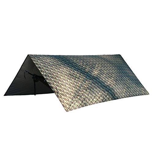 Hideaway Thermo Tarp 3 x 3 Meter Camouflage, Regenschutz, Isolierung gegen Kälte und Hitze