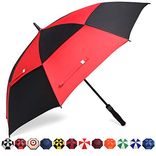 BAGAIL Golf Umbrella 68/62/58 Inch Large Oversize Double Canopy Vented Windproof