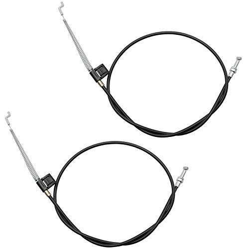 2 pcs Cable de Reemplazo de Sofá y Sillón Reclinable Palanca de Liberación Cable (96cm)