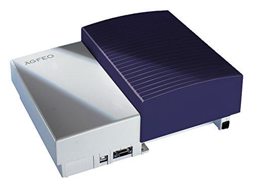 Agfeo AS43 ISDN-Telefonsystem (USB-Anschluss) blau/weiß
