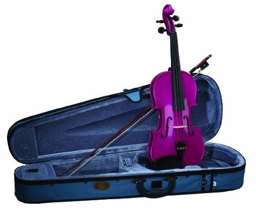 Set violino Stentor Harlequin - Rosa lampone 4/4 (preparato)