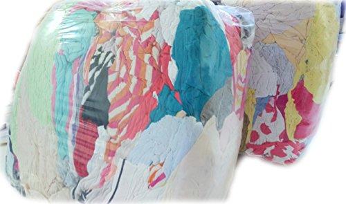 Trikot hochhell pastell 30 kg Premium Industrieputzlappen Baumwolle Putzlappen Putztücher geschnitten nach DIN 61650 1,33 €/kg