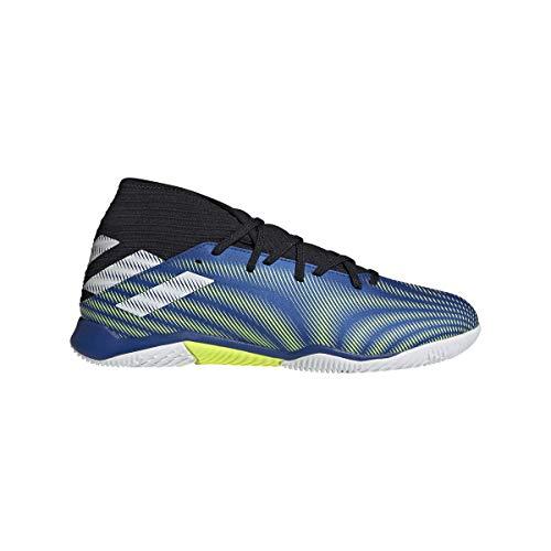 adidas Nemeziz .3 IN, Zapatillas de fútbol Hombre, AZUREA/FTWBLA/Amasol, 41 1/3 EU