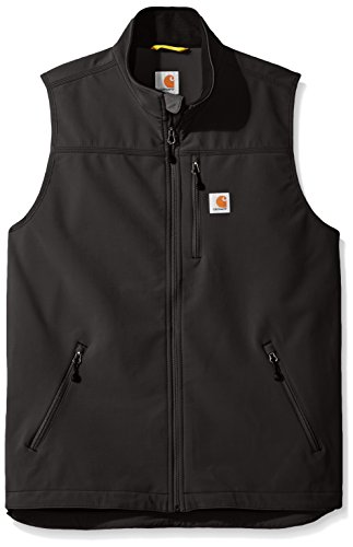Carhartt Big and Tall Men's Big & Tall Denwood Vest, Black, 3X-Large