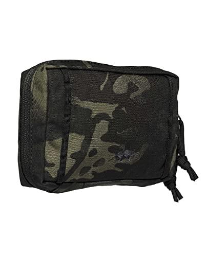 Tasmanian Tiger TT Tac Pouch 4.1 Mochila adicional compatible con sistema Molle, bolsa de accesorios para EDC, herramientas o pequeños primeros auxilios, 10 x 15 x 4 cm (Multicam Black)