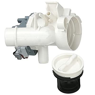 SPARES2GO Complete Drain Pump + Filter Housing Unit for Hoover Washing Machine - Fitment List A