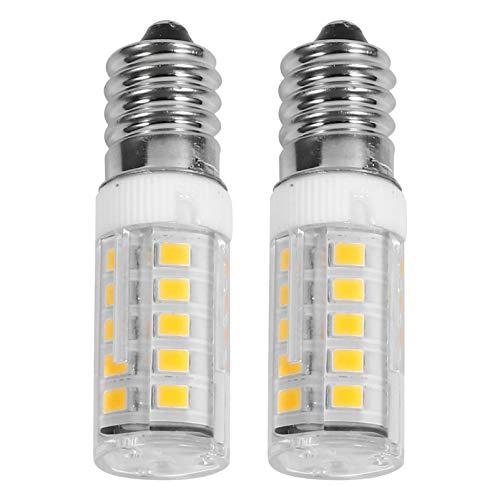 OSALADI 2Pcs Mini Ampoules de Four E14 4W Ampoules à Incandescence Résistantes Aux Hautes Températures Ampoules en Verre Clair pour Four Cuisinière Réfrigérateur Micro-Ondes