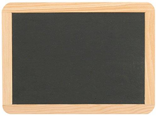 Schiefertafel ca. 22 x 29 cm mit Naturholzrahmen