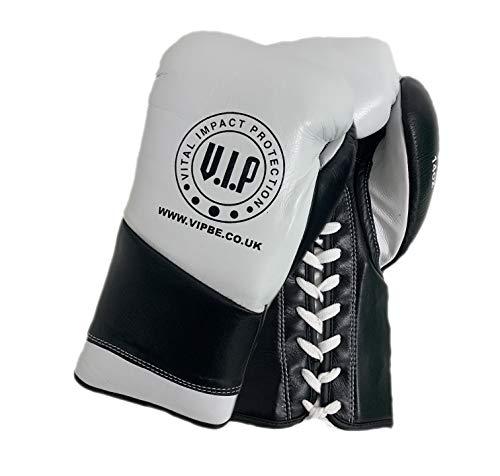 VIP Vital Impact Protection Athena 2 Guantes de Boxeo de Cuero con...