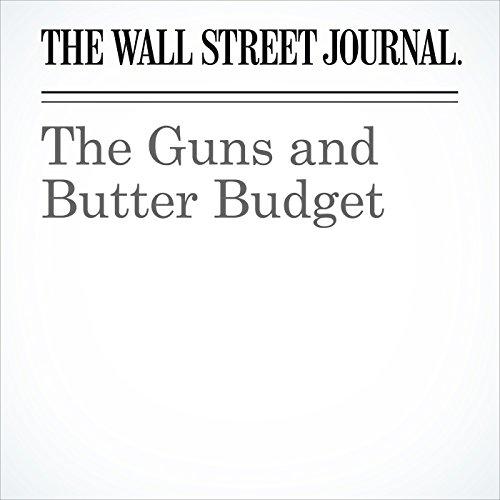 The Guns and Butter Budget copertina