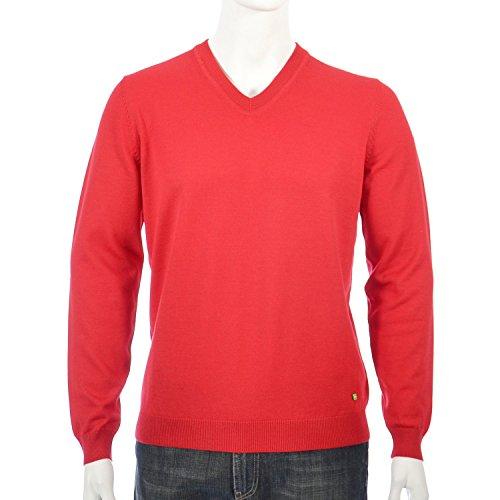 BOSS Green - Pull - Homme Medium Red (610)