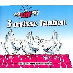 3 Weisse Tauben